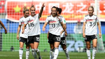 19-Year-Old Giulia Gwinn Joins Elite Company With Gorgeous Goal For Germany