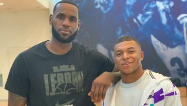 Kylian Mbappé Chills With LeBron, Goes To NBA Finals And Throws Out First Pitch At Dodgers Game