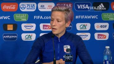 Megan Rapinoe Notes One Thing Holding Back Coverage Of Women's World Cup