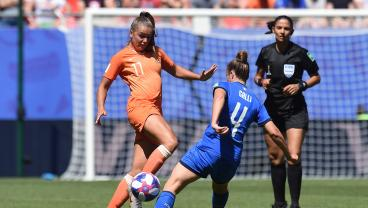 Netherlands Standing Tall On, Off Pitch In Win Over Italy