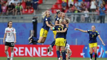 On 10th Try, Sweden Finally Beat Germany In A Major Tournament And Their Faces Said It All