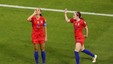 Alex Morgan's Celebration Inspired A Team Called The Sod Poodles To Do A 'Tea Party Cam'
