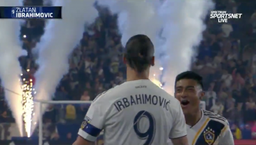 Zlatan 'Irbahimovic' Scores Twice In Misspelled Jersey