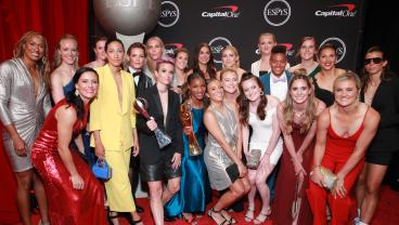 Alex Morgan, USWNT Cleaned Up At The ESPYS, But How About Megan Rapinoe's Outfit?