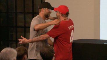 Jurgen Klopp Ends Press Conference By Giving Hug To His 'F*cking Doppelganger'
