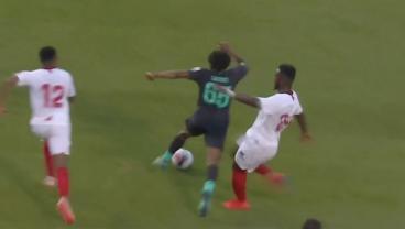 Sevilla's Joris Gnagnon Apologizes For Horror Tackle On Liverpool Prodigy