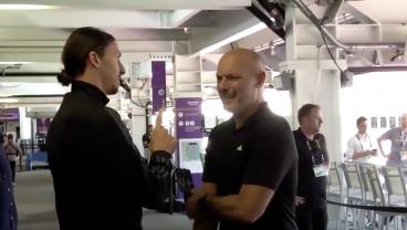 Zlatan Has Conversation With MLS VAR Manager