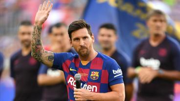 Messi Uses Camp Nou Speech To Address Last Year's Broken Promise, But He Regrets Nothing