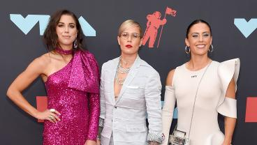 The USWNT Killed It At The 2019 MTV VMAs