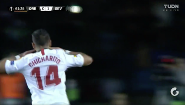 Chicharito Opens Sevilla Account With Stunning Goal