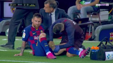 Messi Forced Off At Halftime With Another Injury, But Arthur's Screamer Lifts Barça