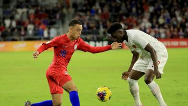 We Can't Stop Watching Sergiño Dest's Sick Elastico On Alphonso Davies