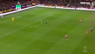 Newcastle Scores Bizarre, Slow Motion Goal After VAR Overturns Offside Decision