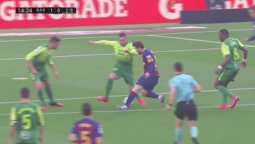 Lionel Messi Goals vs Eibar