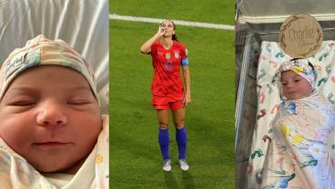 Alex Morgan Announces Birth Of Super Moon Baby