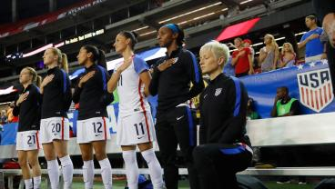 A Congressman Is Drafting A Bill To Force U.S. Soccer Players To Stand For The National Anthem