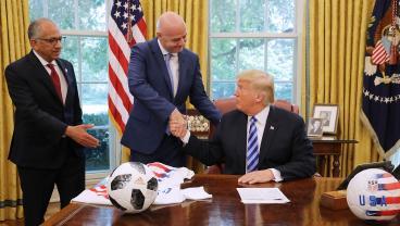 FIFA Responds To Donald Trump's Tweet, Asks For 'Tolerance'