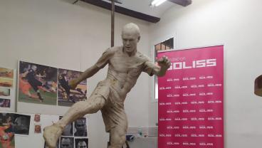 Andres Iniesta Is Very Relieved His Statue Now Has Pants