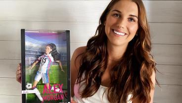 Alex Morgan Is Now A Barbie Girl
