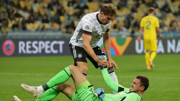 Germany Finally Wins A Nations League Match Thanks To Shocking Goalie Howler
