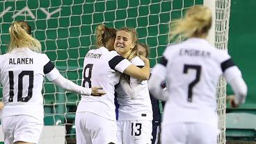 Finnish Striker Scores 95th-Minute Winner Off Her Face To Keep Euro 2022 Hopes Alive