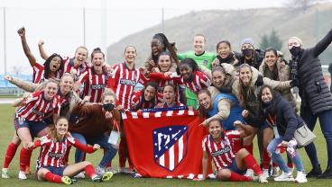 Atlético Takes First-Ever Women's Madrid Derby Over Real Madrid