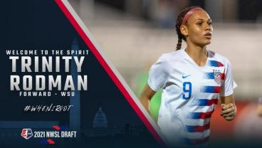 Dennis Rodman's Daughter Trinity Selected No. 2 In NWSL Draft