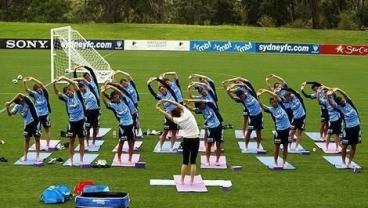 The Key To Staying Forever Young In Soccer Is Yoga