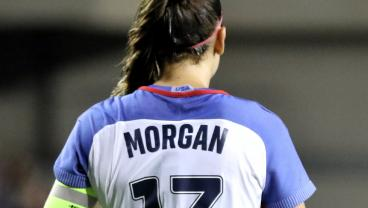 Exactly One Year Out From The Women's World Cup, Alex Morgan Lifts The USWNT Over China