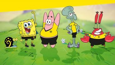Borussia Dortmund Releases SpongeBob SquarePants Fashion Collaboration