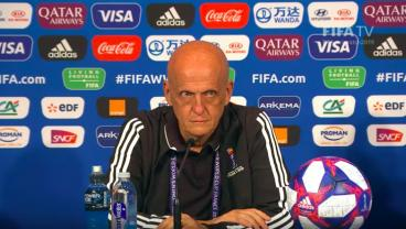 The Great Pierluigi Collina Lays Down The Law During FIFA Media Briefing On VAR