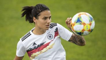 Dzsenifer Marozsán Gets Some Long Overdue Recognition With 100th Germany Cap