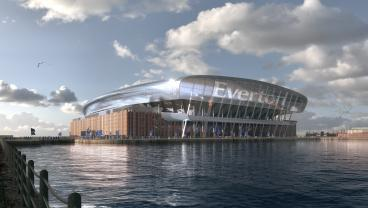 Everton's New $623M, 52,000-Seat Stadium Is Looking Mighty Impressive