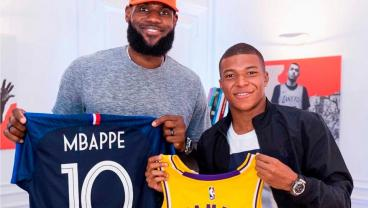 Mbappé And LeBron James Team Up For Special Edition Of LeBron 18 Sneakers