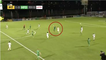 Goalkeeper Gets Assist Thanks To One Man's Ridiculous Ability
