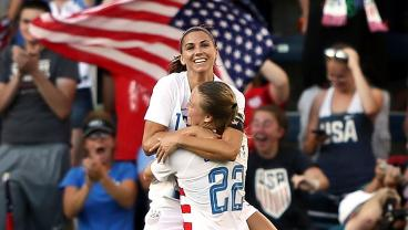 Alex Morgan's Clinical Hat-Trick Fires USWNT To 4-2 Win Over Japan