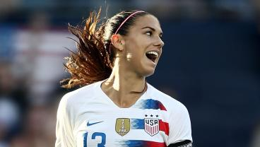 Alex Morgan Continues Red-Hot Streak As USWNT Cruise To 7-0 Win Over Trinidad And Tobago