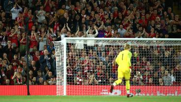 Feel Your Cold, Dead Heart Unthaw As Loris Karius Receives A Standing Ovation At Anfield