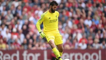 Alisson's Outrageous Flick Inside His Own Box Draws Hilarious Reaction From Jurgen Klopp