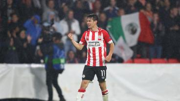 Chucky Lozano Nets His 18th Of The Season With An Acrobatic Effort
