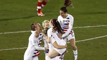 USWNT Punctuates World Cup Berth With 2-0 Victory Over Canada In CONCACAF Final
