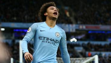 Incredible Leroy Sané Free Kick Sparks Dramatic Comeback Win For 10-Man City