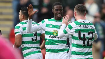 Substitute Timothy Weah Registers Goal And Assist To Help Celtic Win Late