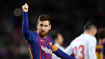 Lionel Messi Makes History With 400th LaLiga Goal