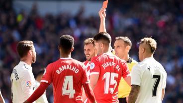 Sergio Ramos Red Card Total Reaches A Quarter-Century