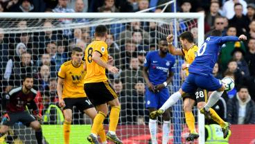 Eden Hazard's Brilliant Strike From Over 20 Yards Out Salvages A Point For Chelsea
