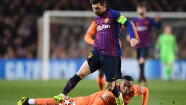 Messi Scores Two Cold-Blooded Goals, Adds Two Assists In 5-1 Demolition Of Lyon