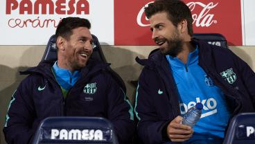 Messi Starts On Bench, Barça Trails 4-2; Messi Enters, You Know The Rest