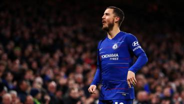 Eden Hazard Scores Insane Goal Against West Ham