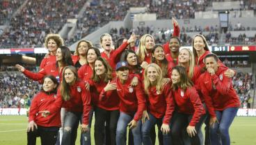 USWNT Honors '99ers At Halftime By Already Being 4-0 Up On Belgium